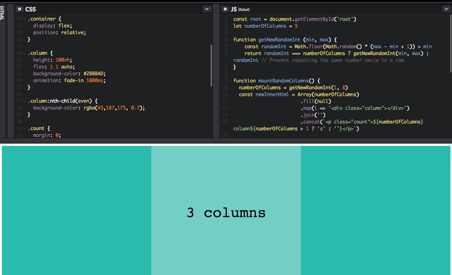 Javascript Css Random Background